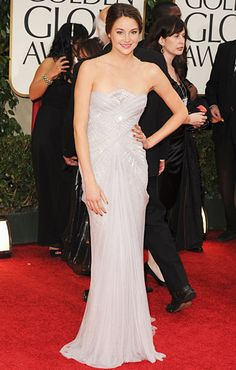 Shailene Woodley in Marchesa. First Marchesa ever that I haven't been completely obsessed with.