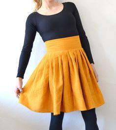 Tyrnifarmarit: Flowing skirts Tutorial