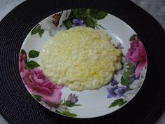 Meu risoto de queijo