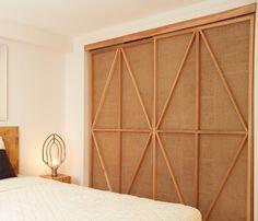 Cedar Burlap Screens by HB Collaborative