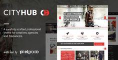 CityHub WordPress Theme on Behance