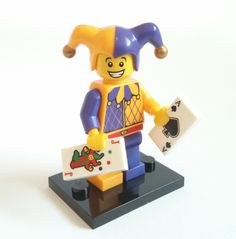 Lego parts New and Used. Jester Lego Collectible Minifigure Series 12 available for purchase. Checkout our other Lego minifigures on sale!