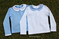 malta-handmade: Школьные блузки с отложным воротником + МК