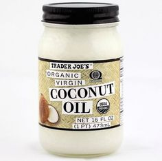 Use organic coconut oil in both your desserts AND DIY hair masks.