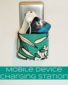 DIY Mobile Device Charging Station | In The Next 30 Days