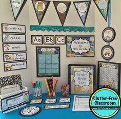 Amazing Travel Themed Classroom   Ideas U0026 Printable Classroom Decorations