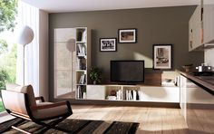 Library+Living render on Behance