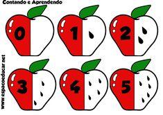 Atividade: jogo educativo das maçãs! Aprendendo os numerais de modo lúdico! - ESPAÇO EDUCAR