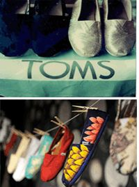 Toms Shoes, love the flower ones