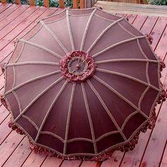 античный зонт от солнца: