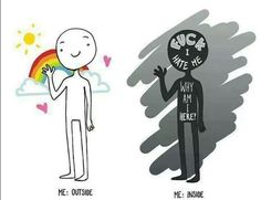 Also good representation of bipolar disorder mania vs depression