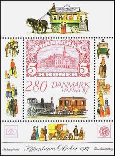 Mail Coaches on Stamps