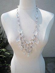 DIY Prada 2010 inspired chandelier necklace by Love Maegan