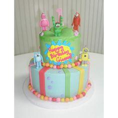 Yo Gabba Gabba cake!!! Ryder's 3rd birthday??? Maybe if someone else makes it...