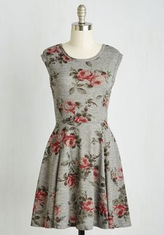 Rest Stop and Smell the Roses Dress | Mod Retro Vintage Dresses | ModCloth.com