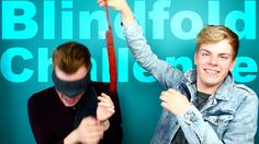 Part of NikinSammy's Blindfold Challenge on Did you enjoy it? Best Youtubers, Twins, Challenges, Facebook, Twitter, Videos, Funny, Gemini, Wtf Funny