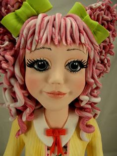 My Cherry amour, she won gold at Manchester Cake International 2013.  All sugarpaste and a lot of love