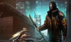 Jason Momoa as Raven: Snow Crash Movie by IzzyMedrano on deviantART