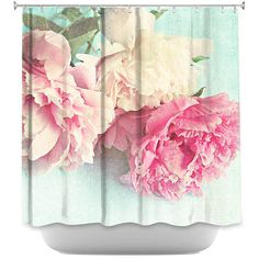 Add some fun and flair to your bathroom with a stylish and unique shower curtain. Rest assured your friends won't have the same one since all designs were originally created by hand.