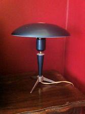 12 Rare Retro Vintage Bauhaus Kaiser Idell Eames Mid Century Space Antique lamp Bauhaus, Antique Lamps, Kaiser, Eames, Retro Vintage, Table Lamp, Mid Century, Lighting, Space