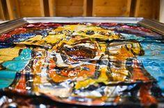 "Simon Raab ""Sports Fool - It doesn't mean shit"" 2008 www.parleau.com #simonraab #parleau #art #artist #perspective #surface #artwork Pinball, Wall"
