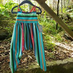 Turquoise Blue Sarape Harem Jumpsuit Warm Leggings, Peasant Tops, Huaraches, Head Wraps, Sunny Days, Perfect Fit, Jumpsuit, Turtle Neck, Turquoise