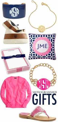 College Prep: Monogrammed Gifts
