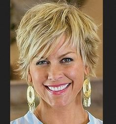 Shaggy Short Haircuts 2016 for Women Over 50-60