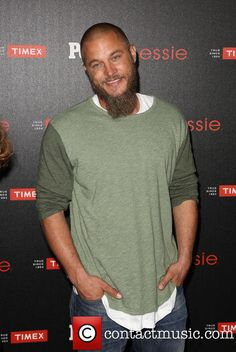 #Travis_Fimmel #2 - People Magazine 'Ones To Watch' Party at The Line - Los Angeles, California, United States - Thursday 9th October 2014 #VIKINGS Travis Vikings, Vikings Travis Fimmel, Vikings Game, Vikings Tv Show, King Ragnar, Roi Ragnar, Viking Quotes, Viking Shirt, Just Beautiful Men