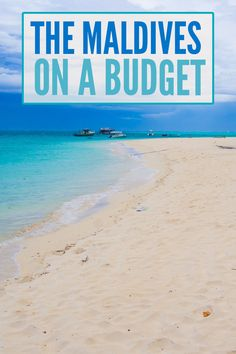 It is possible to visit the Maldives on a budget! Find out exactly how much we spent staying on local islands vs the cost of a Maldives resort.