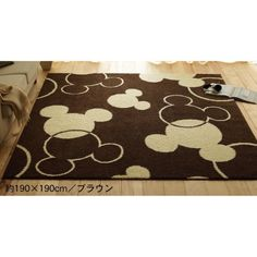 Delightful Mickey Disney Carpet Rug   Japan. They Have A Ton Of Awesome Disney Stuff.  I Wish I Could Read Japanese And I Wonder If They Ship To The US.