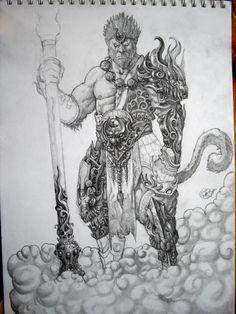 Sun Wukong por Mdq181 | Dibujando