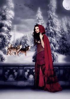 Once Upon a Time - Red by ll-Miss-Winter-ll