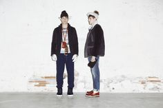 Pizzaboy - trousers (left) + jacket (right)