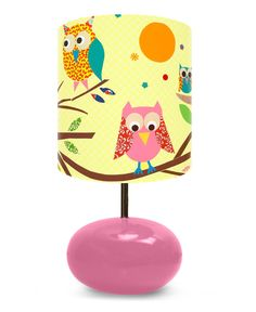owl lamp -- a great decoupage craft