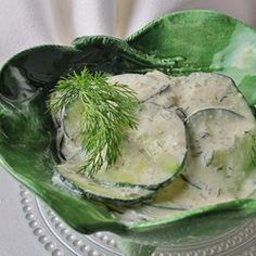 Gurkensalat (German Cucumber Salad) - Allrecipes.com
