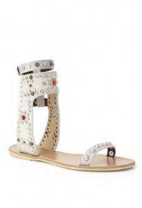 Cheap Isabel Marant Chalk Cole Strasse et Studded Sandal Hot Sale, Discount Isabel Marant Sneakers