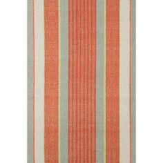 Autumn Stripe Woven Cotton Rug design by Dash & Albert