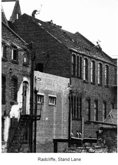 Radcliffe, Stand Lane Rear of Co-op Society offices