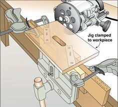 Self-Centering Mortising Jig Woodworking Plan from WOOD Magazine