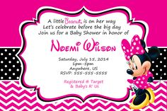 Baby minnie mouse baby shower invitations bows in 2018 baby shower baby minnie mouse baby shower invitations bows in 2018 baby shower invitation and party supplies pinterest minnie mouse baby shower filmwisefo
