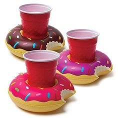 NEW! Inflatable Pool Party Drink Floats - Frosted Donuts – Prep Obsessed Use code BaileyR10 for 10% off!