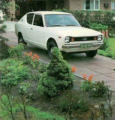Datsun Cherry!!! The first car I drove. El primer cotxe que vaig conduir. Tenia 25 anys el pobre i tot i que es va portar bé de tant en tant em deixava tirada...