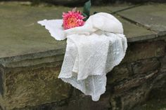 Square Crochet Cotton Tablecloth. Vintage. by NorthMajestyTrail
