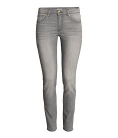 Powder. 5-pocket pants in washed superstretch twill with a regular waist and slim legs.