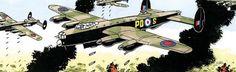July 18, 1944: air assault on Caen, France.