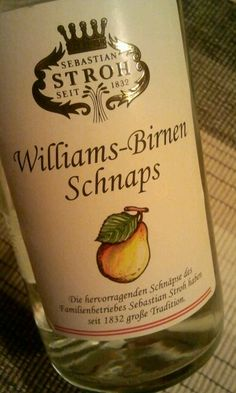 Schnaps, I miss not being able to get those here in the States