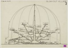 Blow-Out Village - Archigram Archival Project 1966 Peter Cook