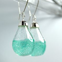 the studio8 : Shimmer Water Long Drop earrings | Sumally