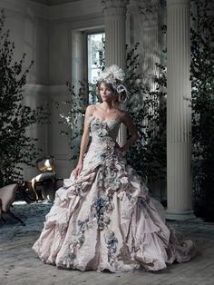 We've found the perfect wedding dress for Little Mix's Perrie, from Ian Stuart #weddingideas